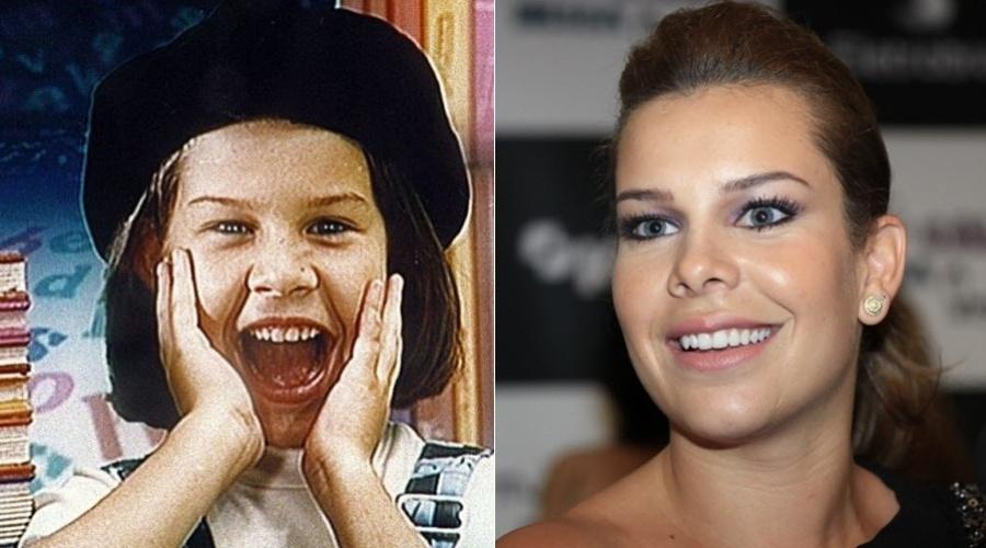 """O primeiro trabalho fixo de Fernanda Souza foi como apresentadora do """"X-Tudo"""", da TV Cultura, quando ela tinha sete anos"""
