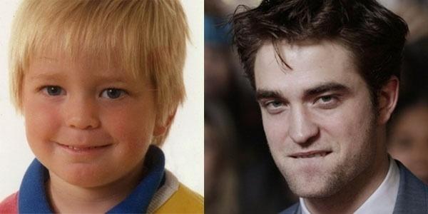 Será que com esses dentinhos, Robert Pattinson já sabia que interpretaria o vampiro mais desejado da história do cinema?