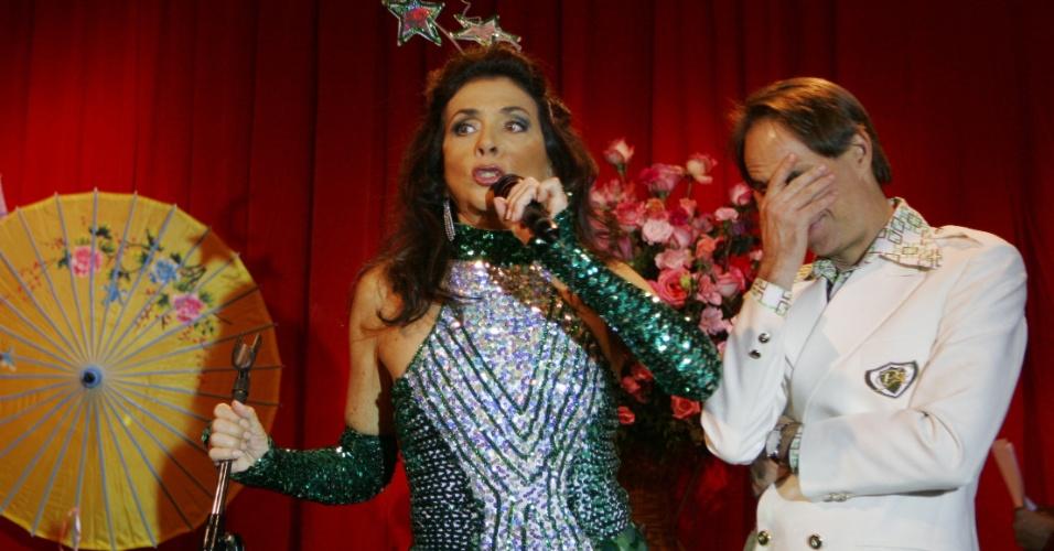 """Jun.2008 - Betty Faria participa de episódio de """"A Grande Família"""""""