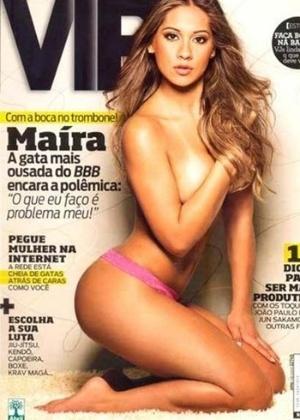 Abril de 2009 - Maíra Cardy (BBB)