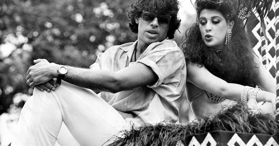"""Alexandre Frota e Claudia Raia se conheceram durante as gravações da novela """"Roque Santeiro"""" e se casaram em 1986. O casal acabou terminando em 1989"""