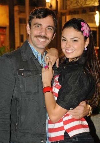 Marcelo Faria e Ísis Valverde