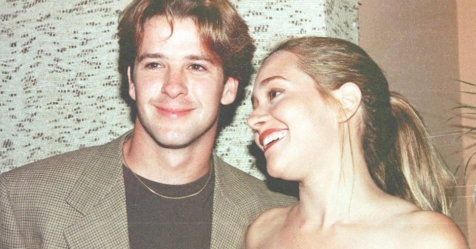 """Murilo Benício e Alessandra Negrini contracenaram e se envolveram durante a novela """"Meu Bem Querer"""" (1998)"""