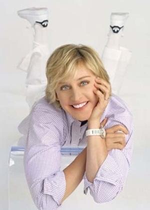 Ellen Degeneres: a apresentadora se casou em 2008 com a atriz Portia De Rossi