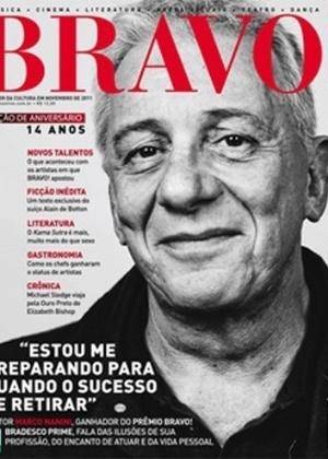 """Marco Nanini abriu o jogo e falou sobre sua orientação sexual, assunto que não costuma comentar, em entrevista para a revista """"Bravo"""