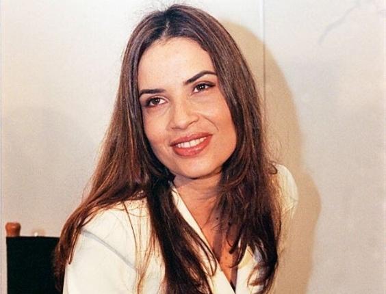 A atriz Isadora Ribeiro em foto de 1998