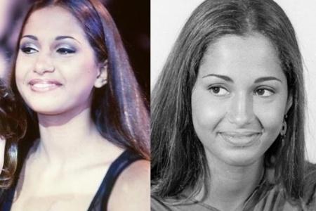 """Camila Pitanga tinha apenas 16 anos quando estreou em """"Sex Appeal"""". Na trama, ela fazia o papel de Vilma, a mais batalhadora do grupo de modelos (1993)"""