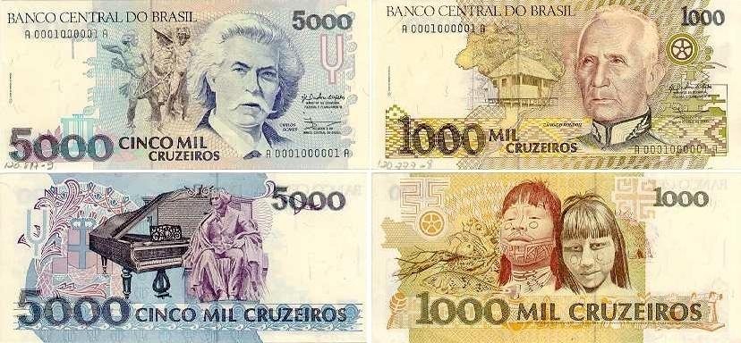 BRASIL: A moeda utilizada era o Cruzeiro, e a inflação atingiu níveis alarmantes, diminuindo o poder de compra do brasileiro.