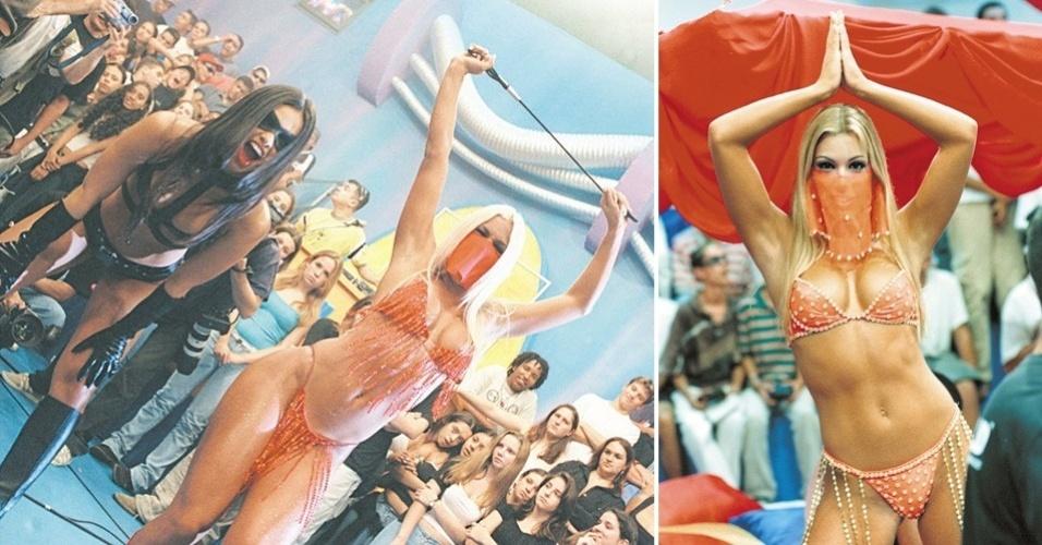 """O programa """"H"""", de Luciano Huck, lançou Joana Prado como Feiticeira, personagem que a paulistana interpretou ao lado de Suzana Alves, a Tiazinha."""
