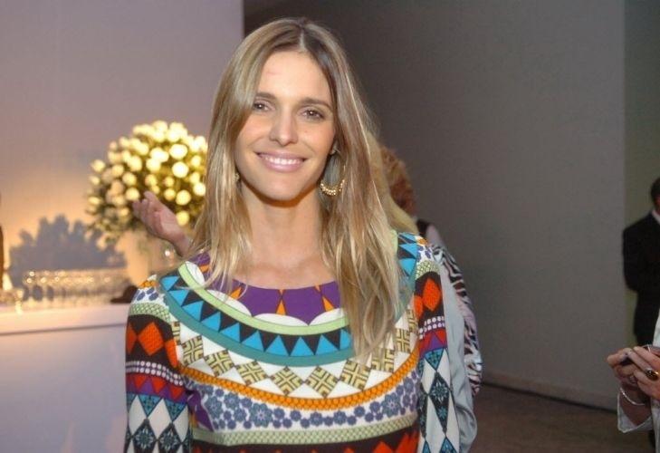 A atriz Fernanda Lima na inauguração do Barra Shopping Sul, o mais novo shopping center de Porto Alegre (18/11/08)