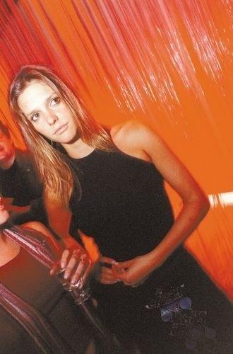 A modelo e VJ Fernanda Lima durante o lançamento da coleção outono/inverno da Lacoste, em SP (15/5/03)