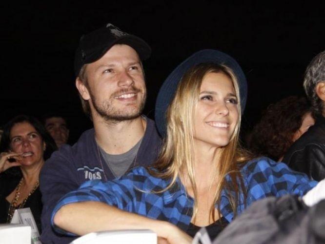 Fernanda Lima e Rodrigo Hilbert em fotografia de 2010