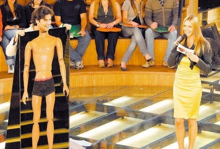 """O ator Bruno Gagliasso participa de quadro do programa """"Amor e Sexo"""", comandado por Fernanda Lima, da Rede Globo (14/10/09)"""