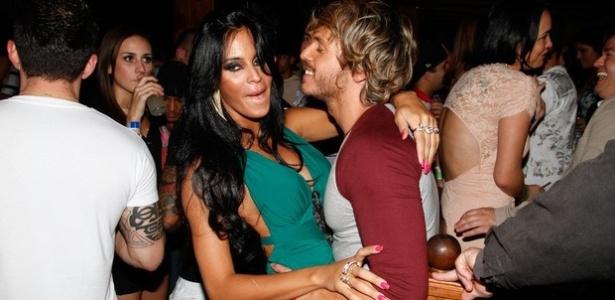 Lorena Bueri e Franklin David tiveram affair em 2012