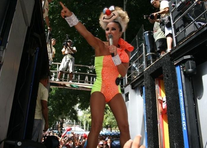 Claudia Leitte no carnaval de Salvador, na Bahia (2010)