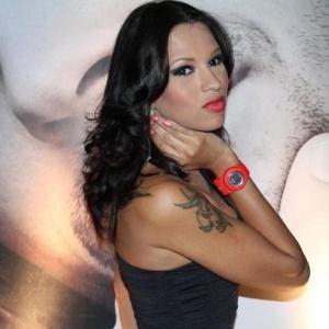 13.dez.2011 - Ex-BBB Ariadna comparece a evento no Rio de Janeiro