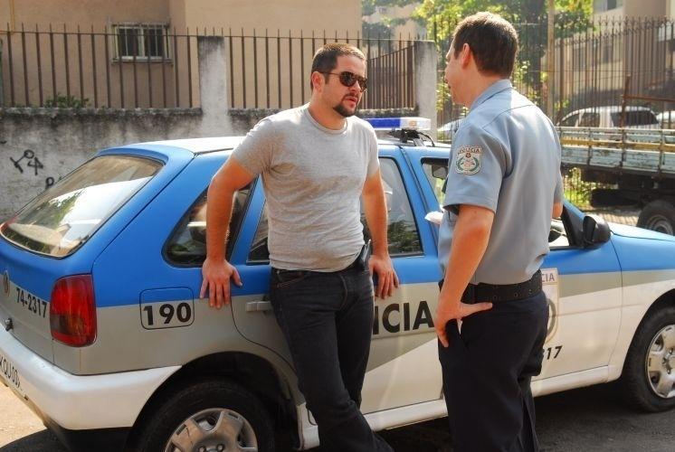 """Murilo Benício (esq.) em cena de """"Força-Tarefa"""" (2009)"""