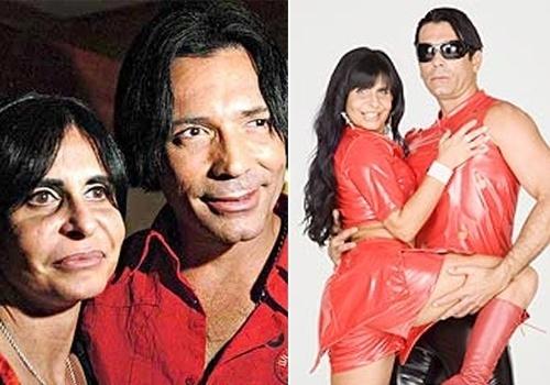 """O ex-guitarrista da Banda Mel também entrou para a lista de companheiros de Gretchen. Eles foram casados de 2006 a 2007. Juntos, protagonizaram filmes pornôs como o clássico """"La Conga Sex"""""""