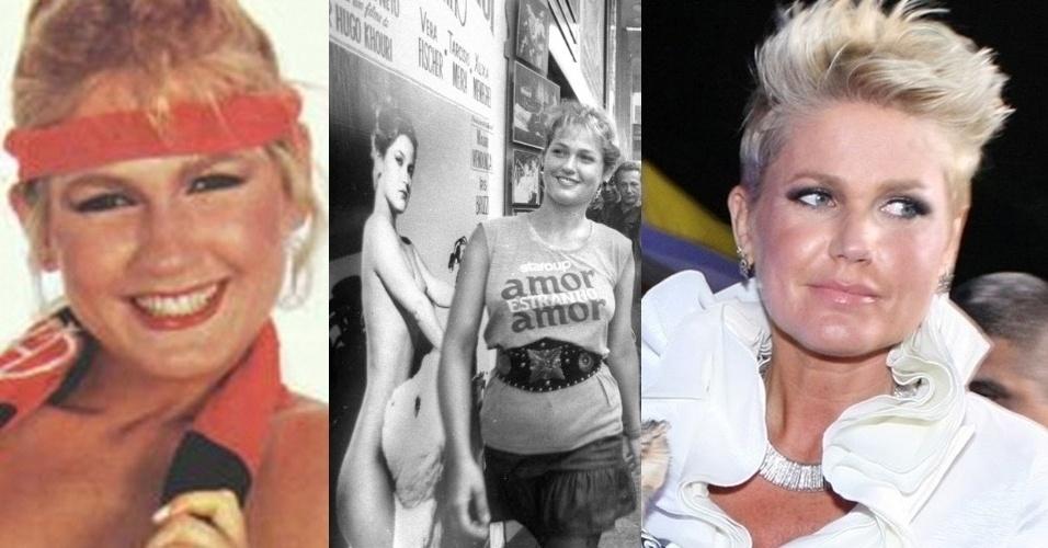"""Antes de ganhar o posto de """"Rainha dos Baixinhos"""", Xuxa, 49, participou de ensaios sensuais para as revistas """"Playboy"""" e """"Manchete"""", além de sua polêmica participação na pornochanchada """"Amor estranho amor"""", onde contracenou com uma garoto de apenas 12 anos."""