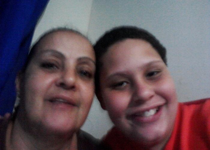 Jorginete Pereira e o neto Elber Victor são bem parecidos! Eles moram na capital carioca