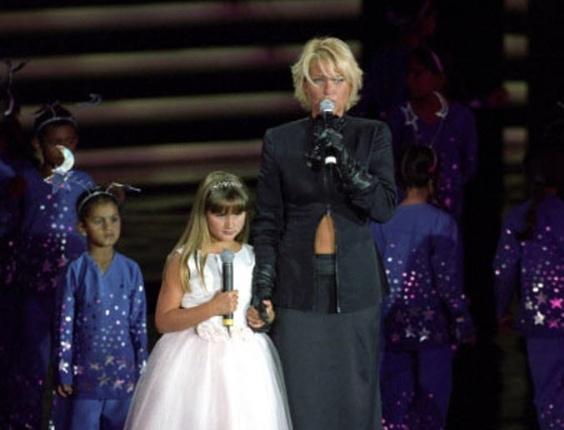 """Sasha e Xuxa participam do """"Criança Esperança"""" de 2005"""