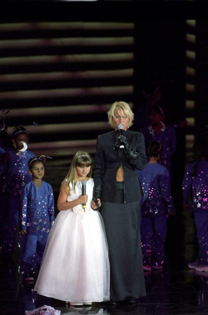 """2005 - Sasha e Xuxa participam do """"Criança Esperança"""""""