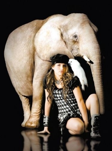 28.nov.2010 - Sasha, filha de Xuxa, posa em campanha de moda da grife de sua tia