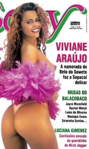 Em 1999, Viviane Araújo - anunciada como