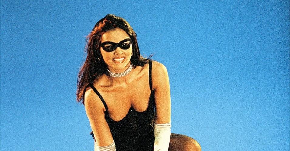 """Em 2002, a atriz participou do reality show """"Casa dos Artistas"""", do SBT."""