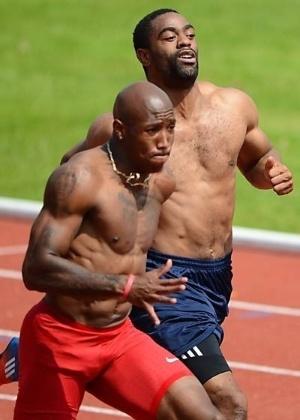 Kimmons teve a prata cassada após doping de Tyson Gay - Andrew Yates/France Presse
