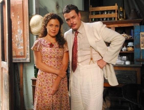 """Como protagonista da minissérie """"Dalva e Herivelto"""", Fábio Assunção se destacou na mídia ao lado de Adriana Esteves pela boa interpretação como o casal de cantores (2010)."""