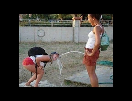 Dizem que urina humana faz bem à saúde