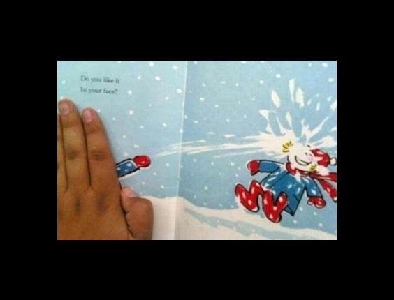 Guerra de neve!