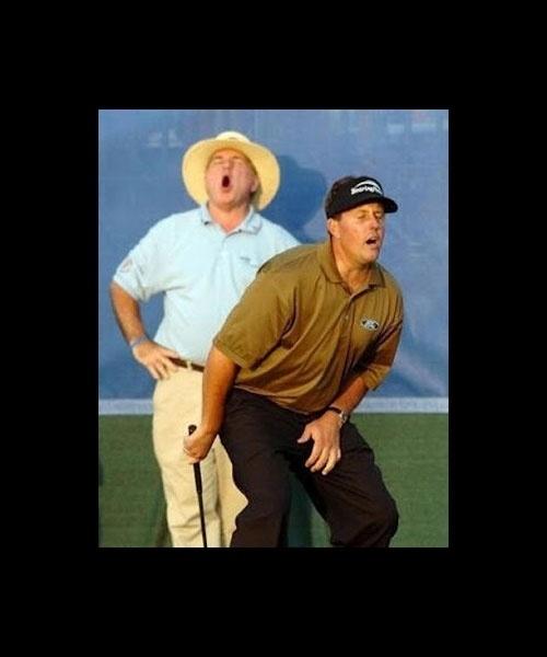 O prazer de jogar golfe