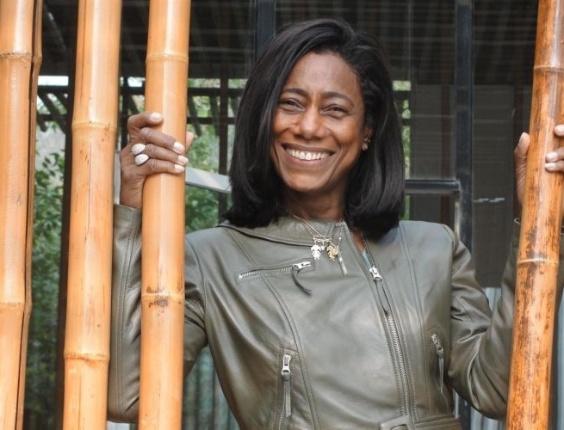 Glória Maria em reportagem especial na China para o 'Globo Repórter' (2010).