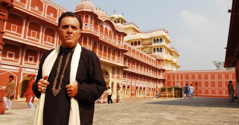 """Atchá! Em """"Caminhos da Índias"""", Tony era o indiano milionário Opash Ananda (2009)"""