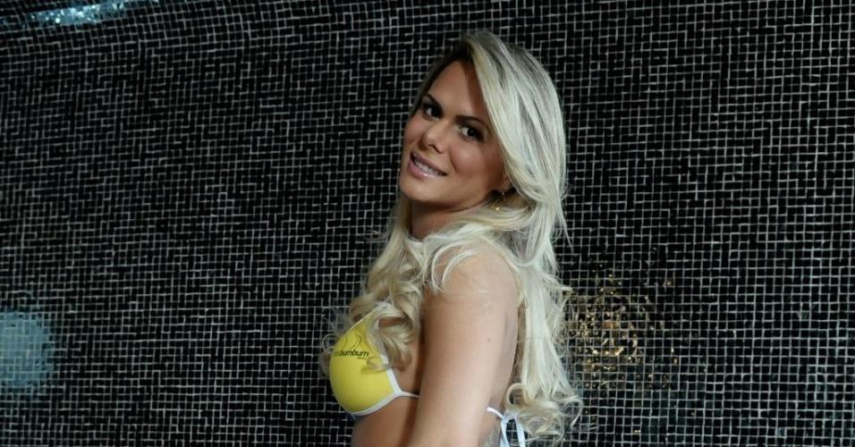 A bela Ludmila Lopez é a representante do Estado de Goiás no 'Miss Bumbum' (28/8/12).