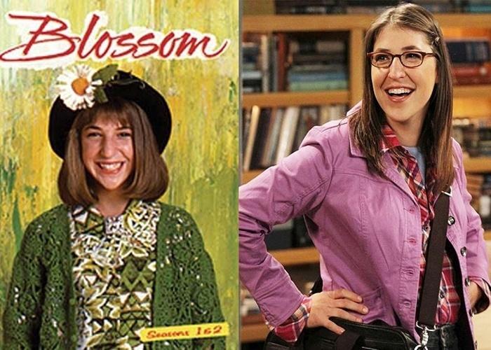 'Blossom' era um seriado norte-americano que contava as histórias e conflitos da adolescente Blossom Russo. Em 1997, foi exibida pela primeira vez no Brasil e alcançou grande repercussão. Mayim Bialik é a atriz que interpreta a personagem principal da série. Com o fim do seriado, ela voltou a estudar e se formou em neurociência. Mas não ficou longe das telas, atualmente, vive a personagem Amy Farah Fowler no seriado 'The Big Bang theory'.