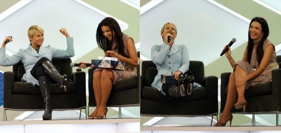 """Durante o quadro """"Papo X"""" com Patrícia Poeta, a apresentadora diz que no sul brigadeiro é chamado de """"negrinho"""" e complementa dizendo: """"Eu não gosto de negrinho. Gosto de negão. Todo mundo sabe disso"""" (3/4/09)"""