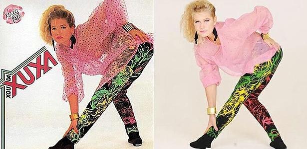 Em comemoração aos seus 25 anos de carreira, Xuxa Meneghel decidiu refazer a foto de capa do primeiro disco do Xou da Xuxa, lançado em 1986. No ensaio fotográfico assinado pelo irmão, Blad Meneghel, a apresentadora está com roupa, maquiagem e penteado idênticos aos usados na imagem original (5/7/11)
