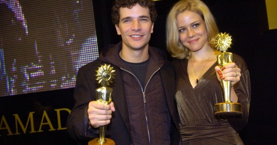 Daniel de Oliveira e Leandra Leal, melhores atores do Festival de Cinema de Gramado