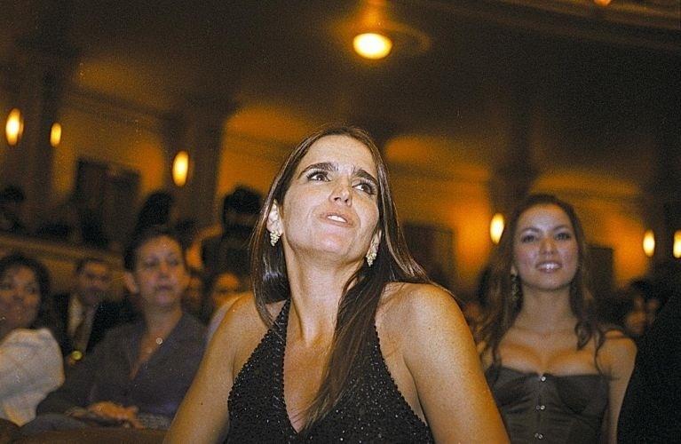 Malu Mader na entrega do prêmio Multishow no teatro Municipal do Rio de Janeiro, no centro (1/6/04)