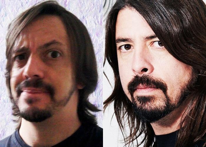 Alê Fernandez tem pinta de estrela do rock, tanto que é sempre citado pelos amigos como sendo a cara do roqueiro Dave Grohl, vocalista do Foo Fighters. Ele até montou uma banda de rock, os Face Fighters