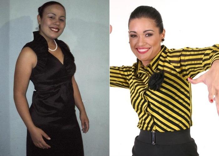 Priscilla comenta que seus amigos dizem que ela é a cara da Milene Pavorô, assistente do 'Programa do Ratinho'