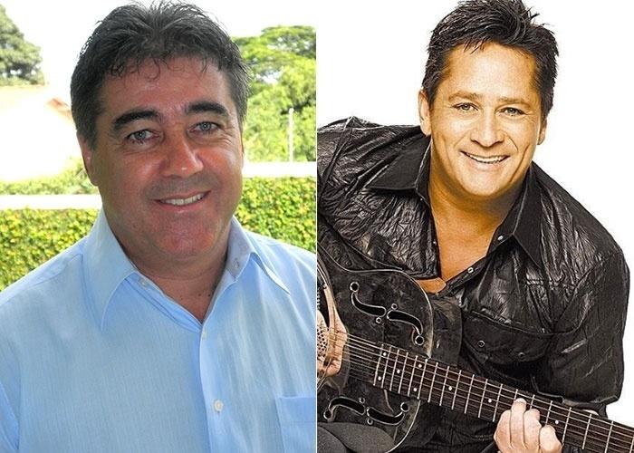 Carlos Marques de Valinhos (SP) diz ser comparado ao cantor Leonardo. É você, Léo?