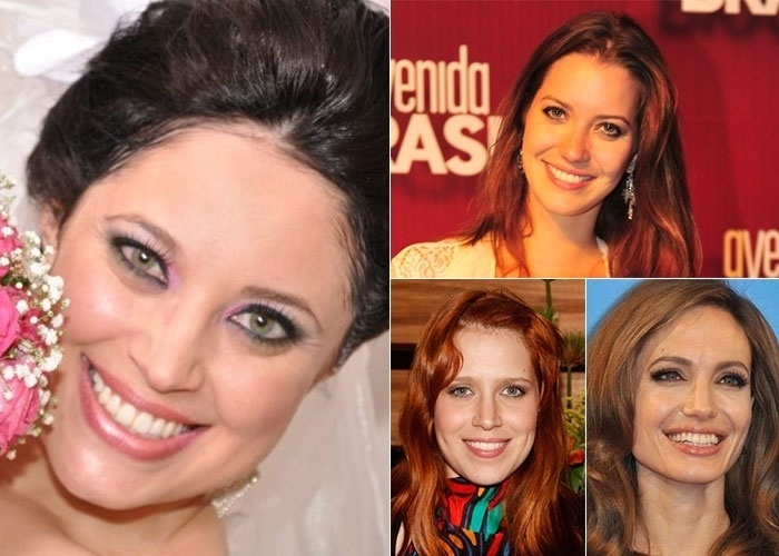 Marcela Karine Pedroso diz ser comparada a três atrizes: Nathalia Dill, Mel Lisboa e Angelina Jolie