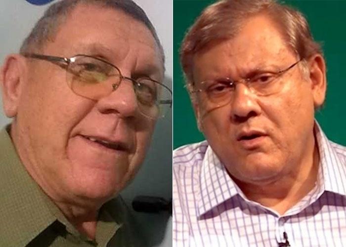 Marco Aurélio se acha parecido com Milton Neves, parceiro do BOL. Concorda?
