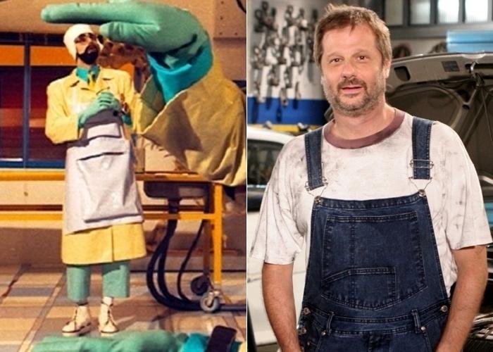 O ator Marcelo Stroeter ficou famoso no 'Castelo Rá-Tim-Bum' por apresentar um quadro científico, no qual viveu o personagem Perônio, irmão gêmeo do cientista Tíbio (interpretado pelo ator Flávio de Souza). Atualmente, Marcelo está no elenco do remake da novelinha 'Carrossel', na qual vive o pai do personagem Jaime