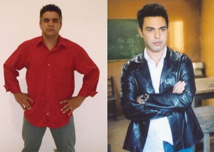 """O internauta Nelson da Silva diz que é a cara do cantor Zezé Di Camargo. """"Quando só uma pessoa diz que somos parecidos, não acreditamos, mas quando são milhares é diferente"""", conta o paulistano"""