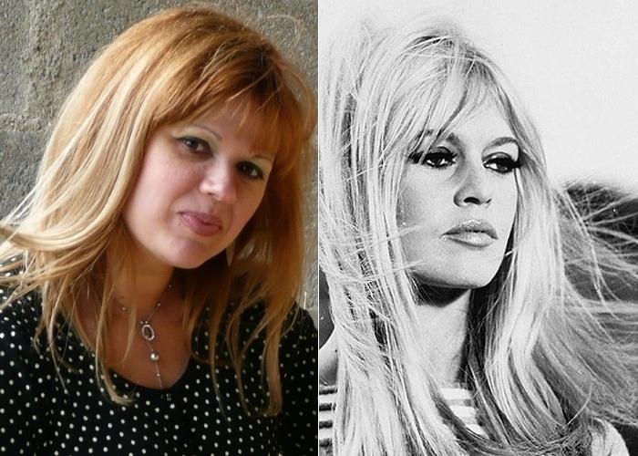 A brasileira Vagna mora há 10 anos na França, país onde as pessoas dizem que ela lembra os traços da atriz Brigitte Bardot.